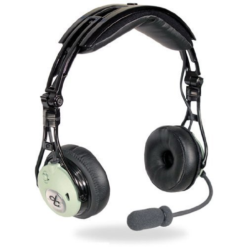 An Airbus XLR TSO headset built for professional pilots.